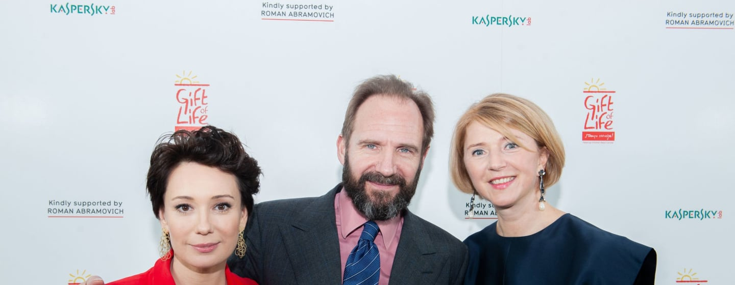 Ralph Fiennes joins Gift of Life as a new Patron